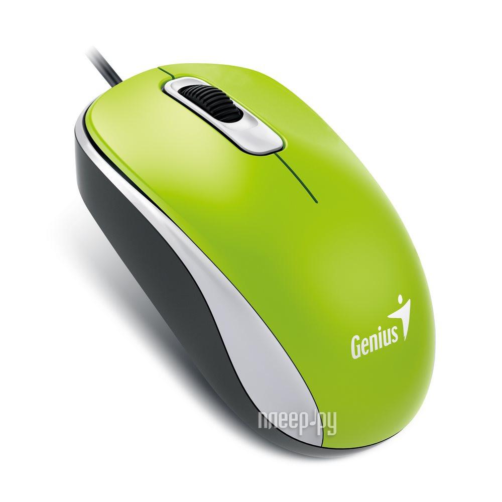 Мышь Genius DX-110 Green