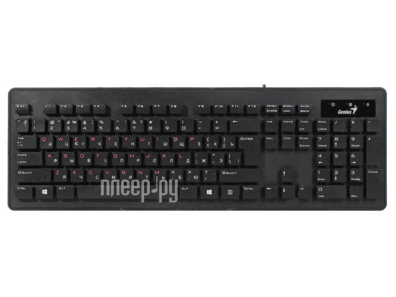 Клавиатура Genius SlimStar 130 USB Black