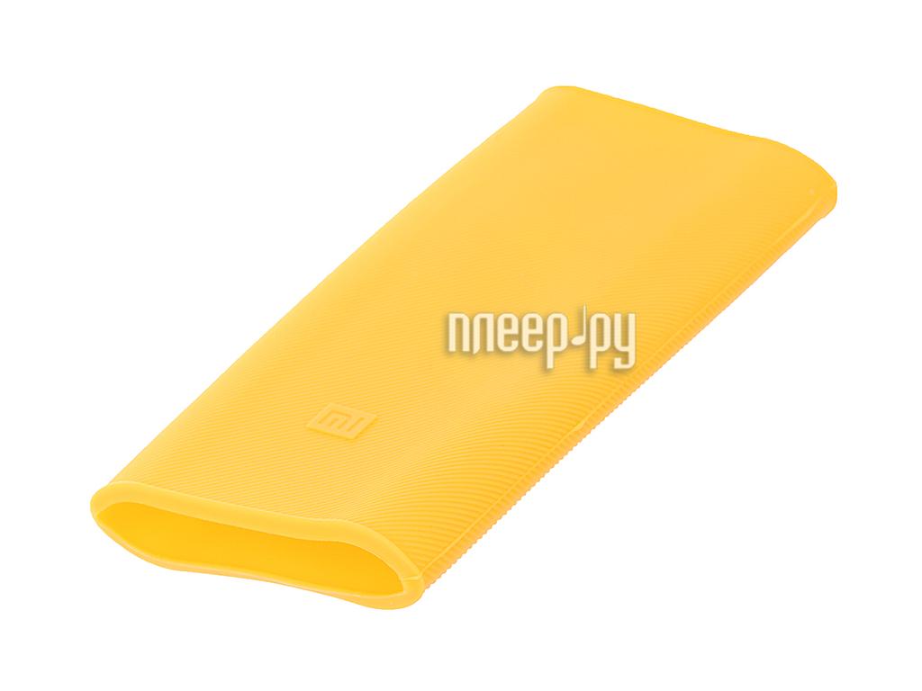 Аксессуар Чехол Xiaomi Silicone Case for Power Bank 16000 Orange