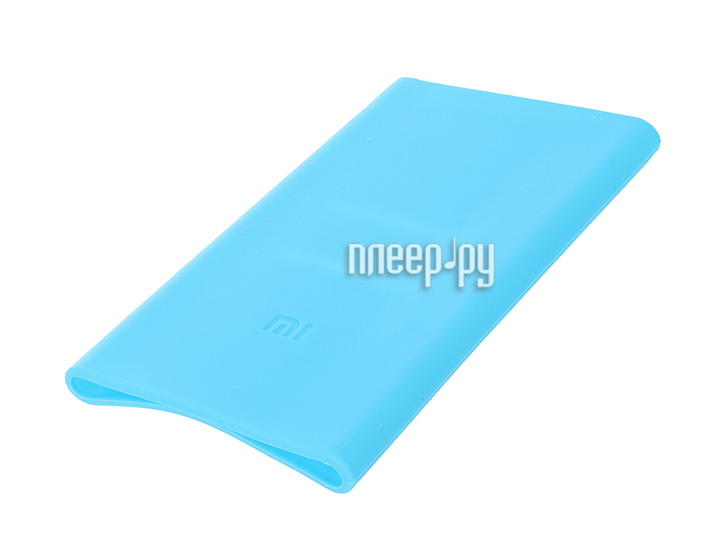 Аксессуар Чехол Xiaomi Silicone Case for Power Bank 5000 Blue