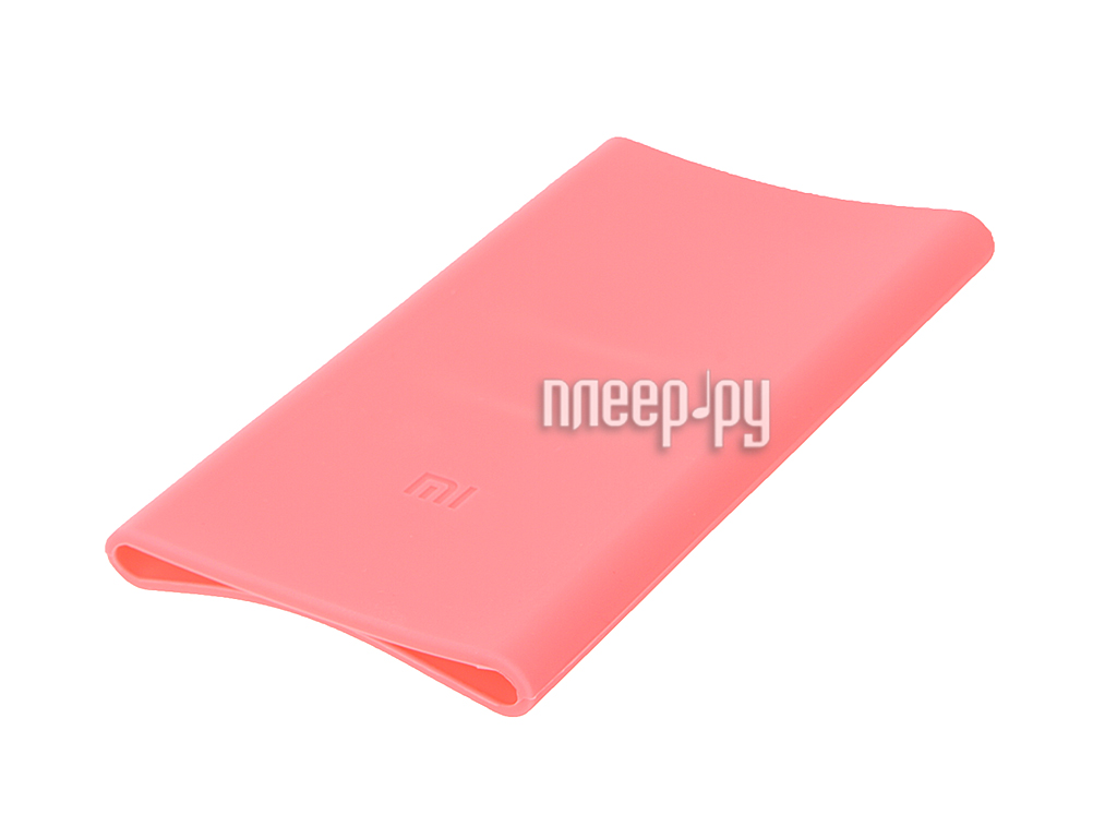 Аксессуар Чехол Xiaomi Silicone Case for Power Bank 5000 Pink