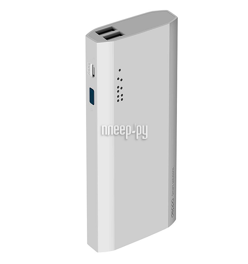 Аккумулятор Deppa NRG Power 13000 mAh White 33513