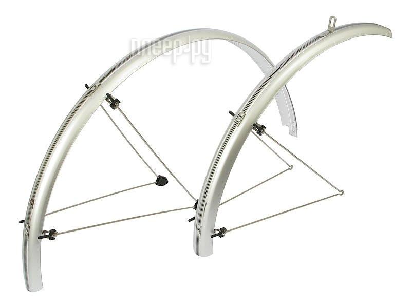 Велокрылья SKS Chromoplastics R28 45mm Silver NSK10119