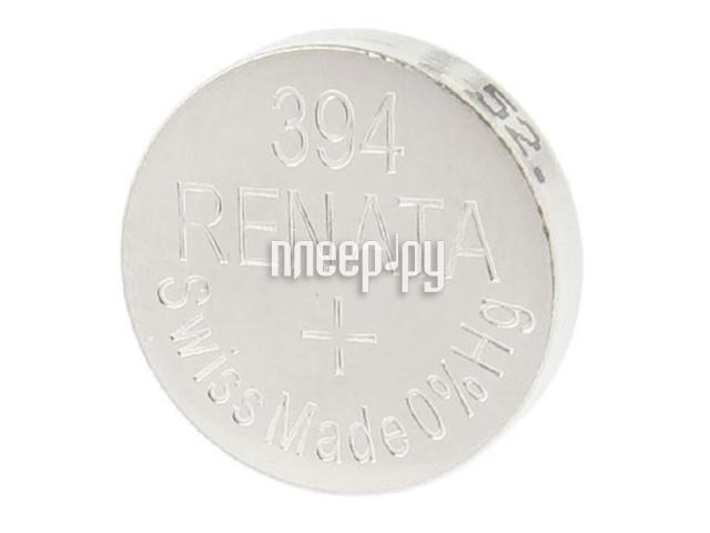 Батарейка R394 - Renata SR936SW (1 штука)