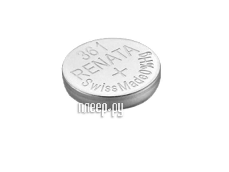 Батарейка R361 - Renata SR721W (1 штука)