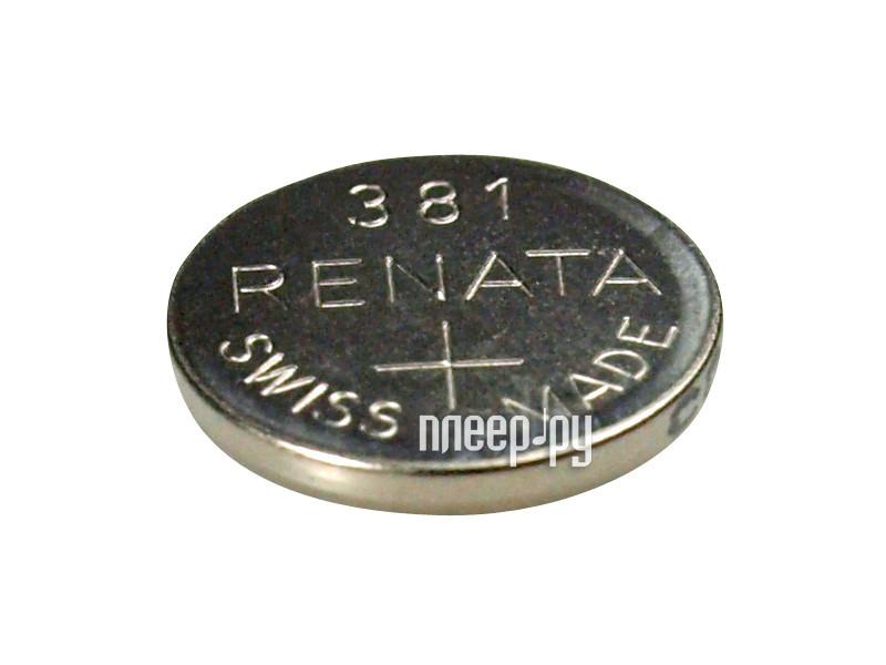Батарейка R381 - Renata SR1120SW (1 штука)