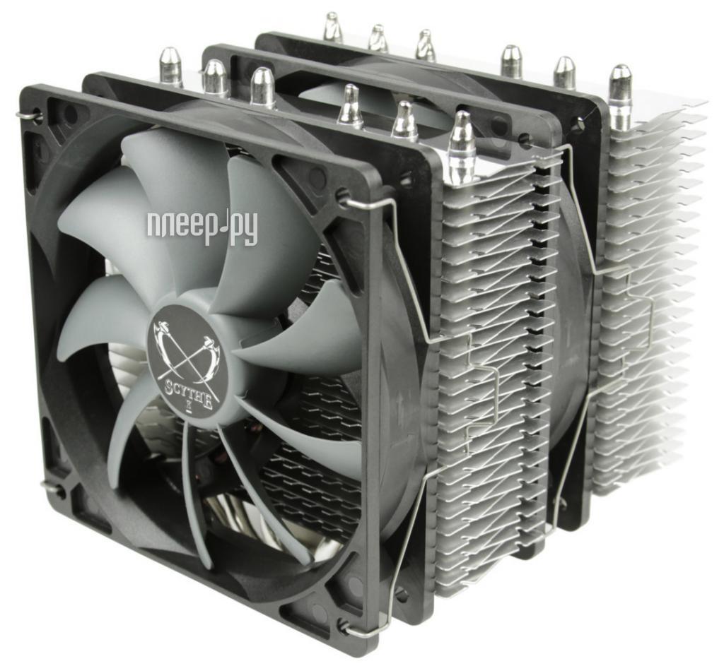 Кулер Scythe Fuma SCFM-1000 (Intel LGA775 / 1150 / 1151 / 1151 / 1155 / 1156 / 1366 / 2011 / AMD AM2 / AM2+ / AM3 / AM3+ / FM1 / FM2 / FM2+)