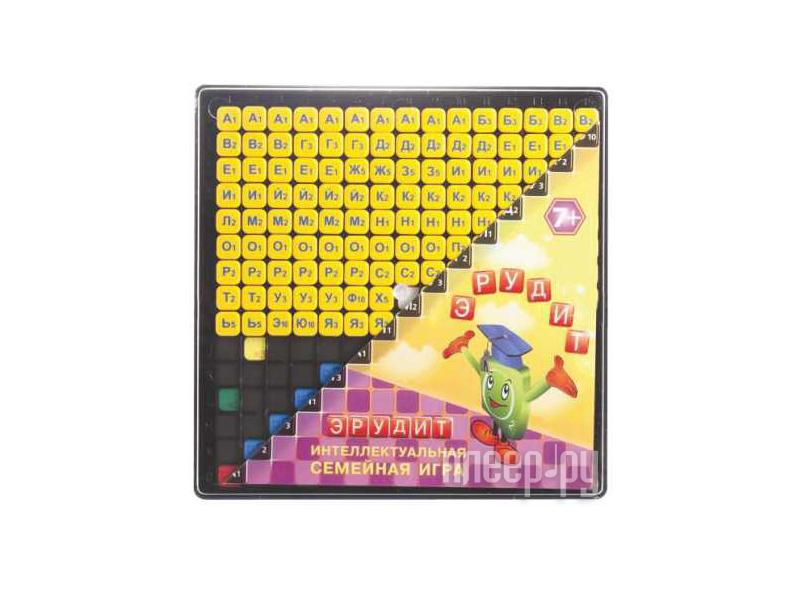 Настольная игра Биплант Эрудит Желтые фишки 10013 купить