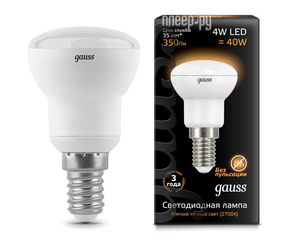 Лампочка Gauss R39 4W 2700K E14 106001104
