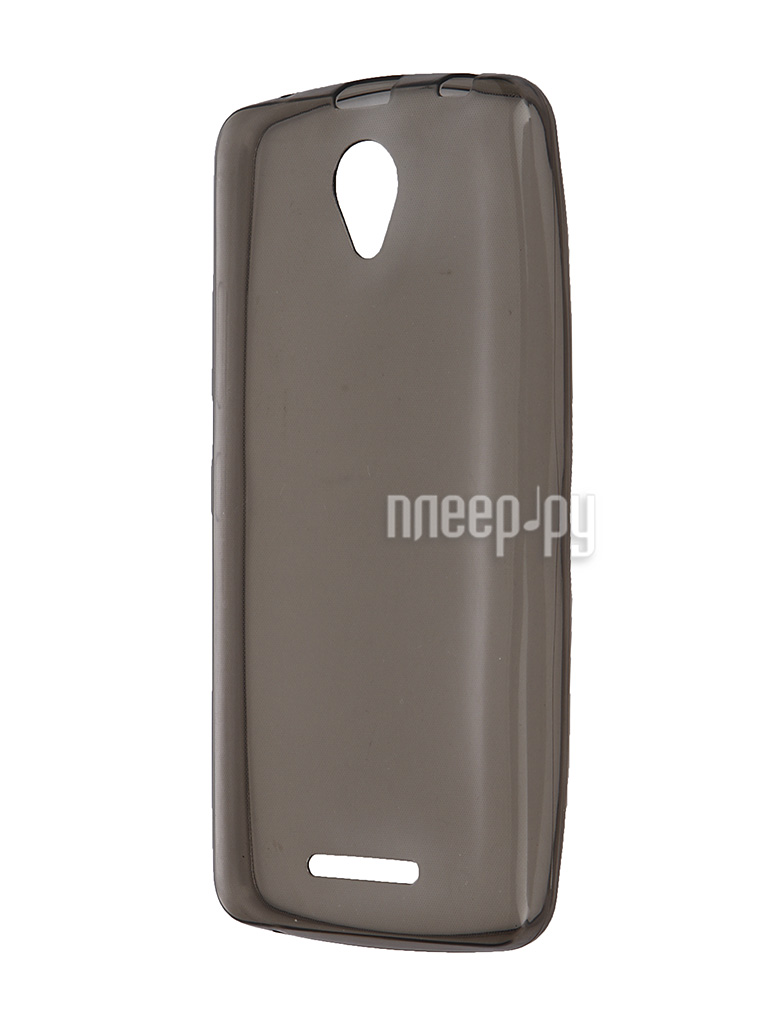 Аксессуар Чехол Lenovo A5000 Krutoff Transparent-Black 10235