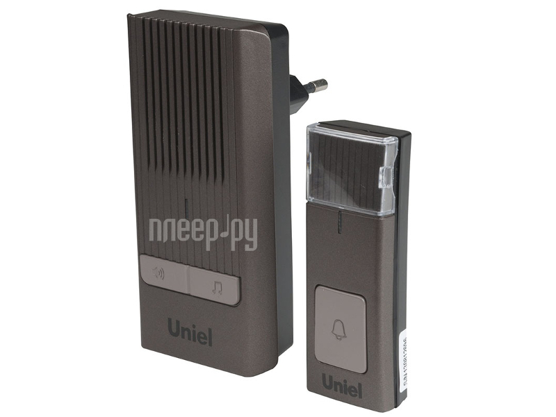 Звонок дверной Uniel UDB-012W-R1T1-32S-150M-CH Chocolate 08283