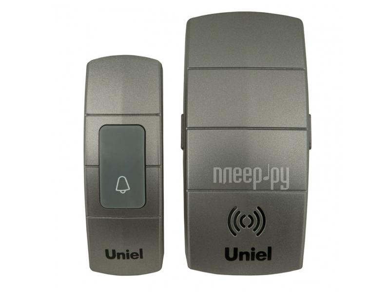 Звонок дверной Uniel UDB-088W-R1T1-32S-100M-DS Silver 05466