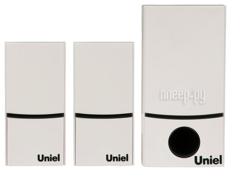 Звонок дверной Uniel UDB-090W-R1T2-32S-100M-WH White 05470