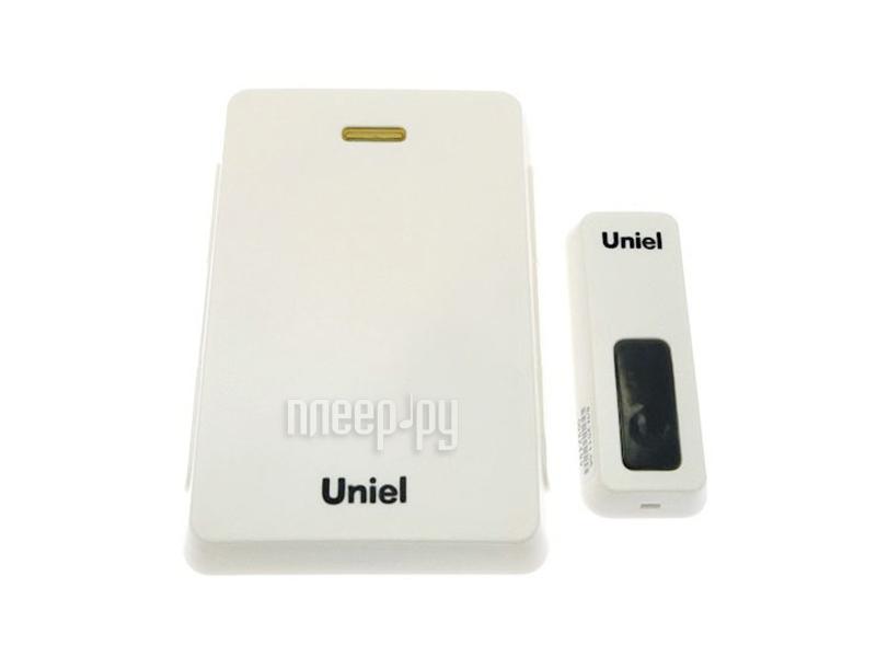 Звонок дверной Uniel UDB-005W-R1T1-32S-100M-WH White 03609