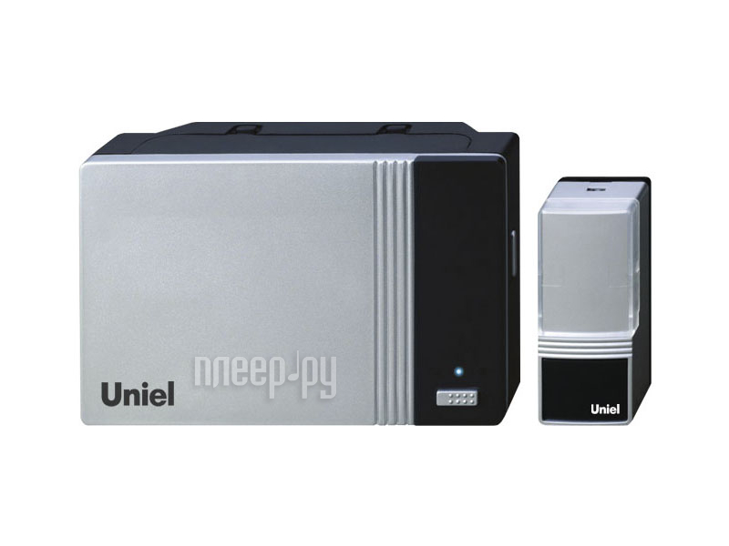 Звонок дверной Uniel UDB-006W-R1T1-32S-100M-SL Silver 03613