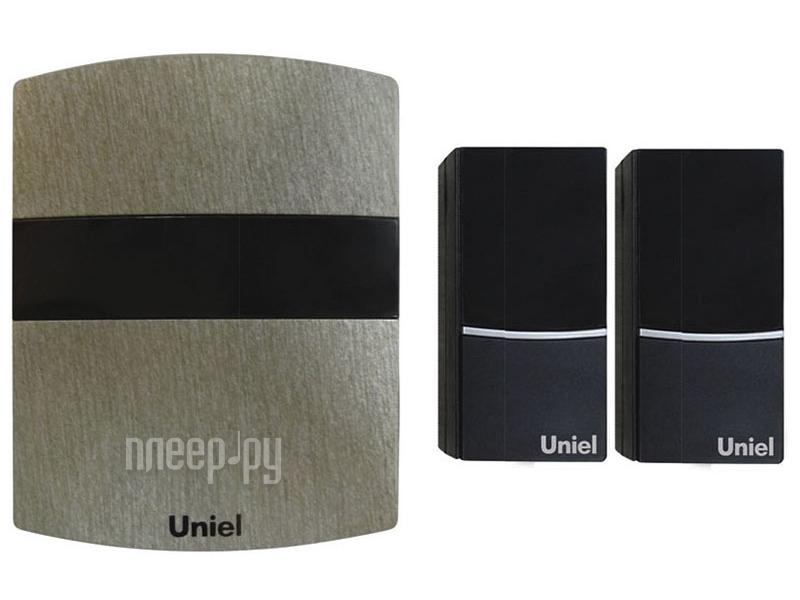 Звонок дверной Uniel UDB-004W-R1T2-32S-100M-DS Dark-Silver 03619