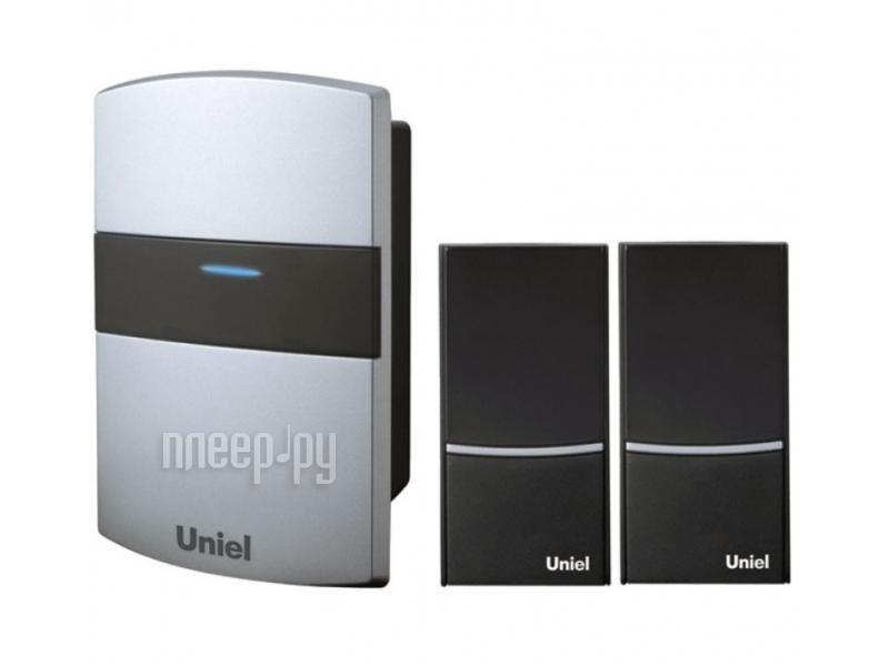 Звонок дверной Uniel UDB-004W-R1T2-32S-100M-SL Silver 02242