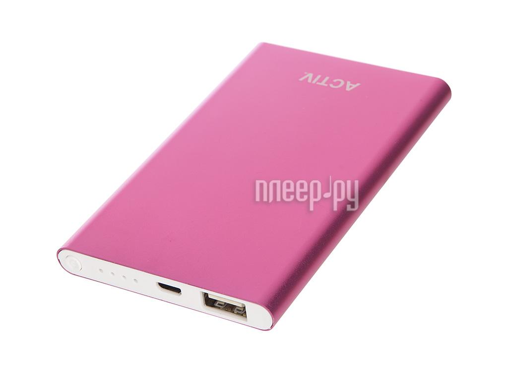 Аккумулятор Activ Vitality 3000mAh Pink 55044