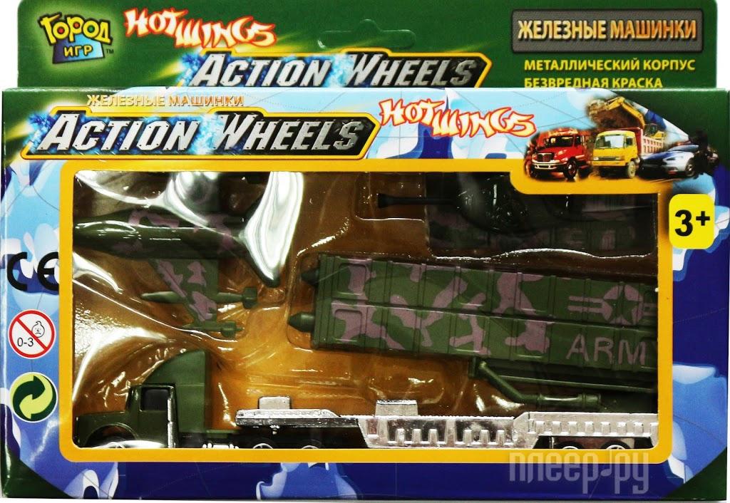 Машина Город игр Hot Wings Армия GI-6155