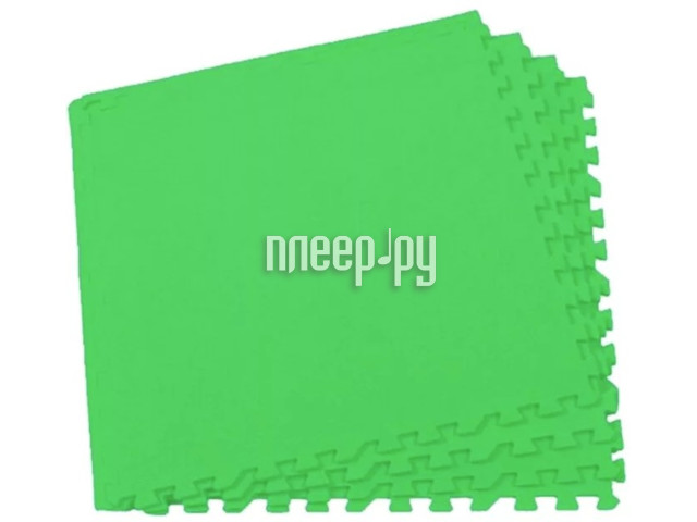 Развивающий коврик Экопромторг Мягкий пол для детской Green 60МП / 361
