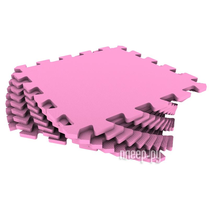 Развивающий коврик Экопромторг Мягкий пол для детской Pink 33МП / 210