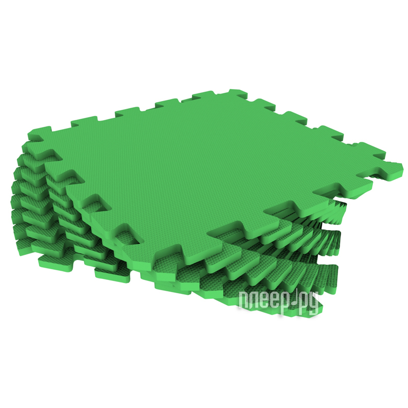 Развивающий коврик Экопромторг Мягкий пол для детской Green 33МП / 361