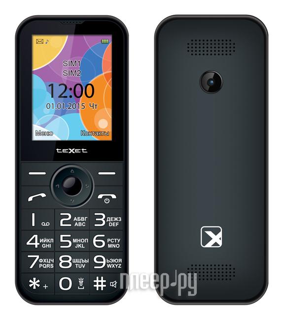 Сотовый телефон teXet TM-B330 Anthracite