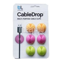 Комплект Bluelounge CableDrop CD-BR Yellow/Pink/Green