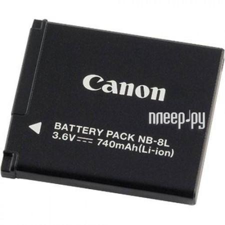 Аккумулятор Canon NB-8L  Pleer.ru  1797.000