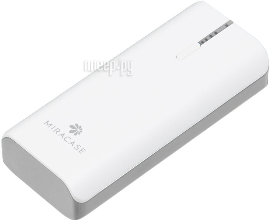 Аккумулятор Miracase MACC-826 5200mAh White-Grey