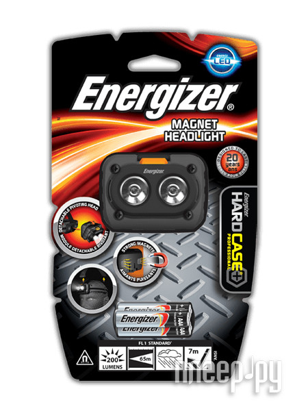 Фонарь Energizer HardCase Magnet