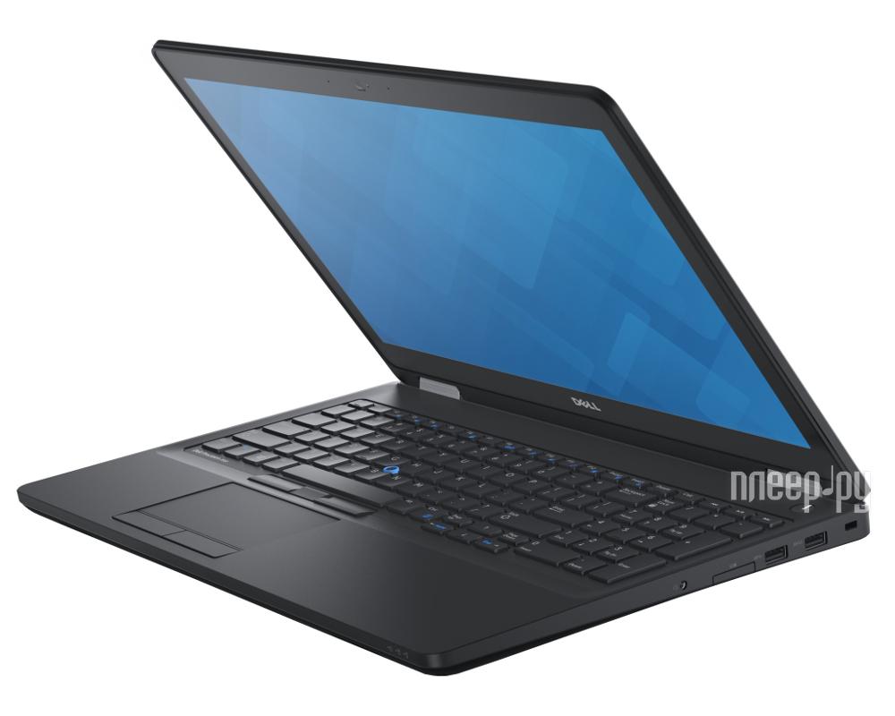 Ноутбук Dell Precision 3510 3510-9440 (Intel Core i5-6300HQ 2.3 GHz / 8192Mb / 1000Gb / No ODD / AMD FirePro W5130M 2048Mb / Wi-Fi / Bluetooth / Cam / 15.6 / 1920x1080 / Windows 7 64-bit) 360221