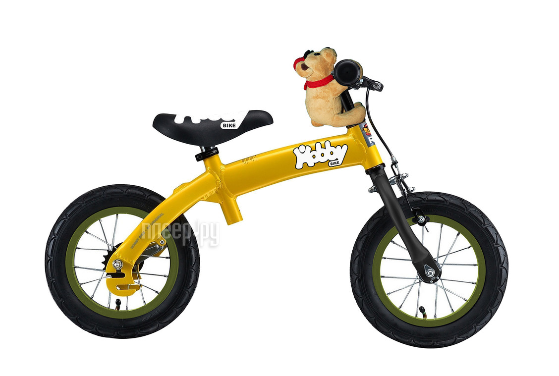 Беговел RT Hobby-bike ALU NEW 2016 Yellow