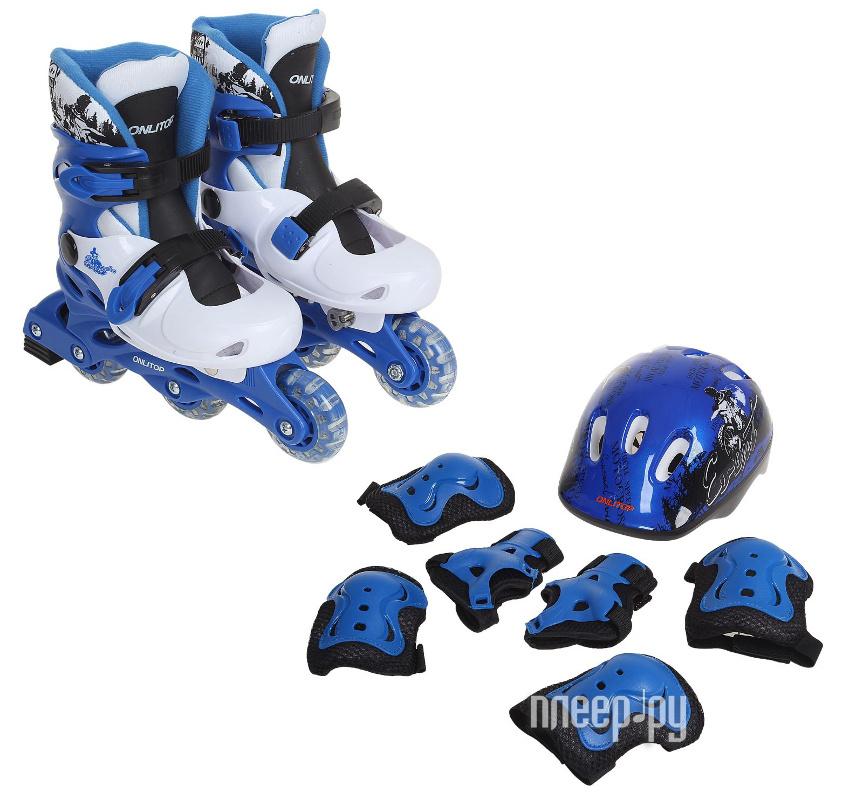 Коньки Onlitop Blue-Black 30-33 1231417