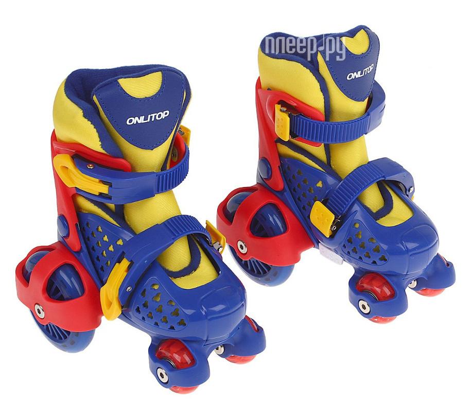 Коньки Onlitop ABEC-7 Blue-Yellow 26-29 1231446