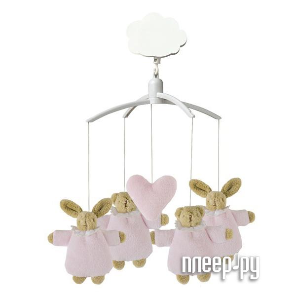 Музыкальный мобиль Trousselier Musical Mobile Soft Bunny + Soft Bear VM1148 03 Pink