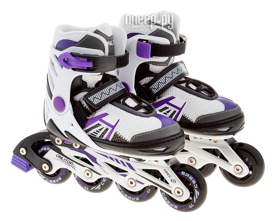 Коньки Onlitop ABEC-5 35-38 Purple 869414