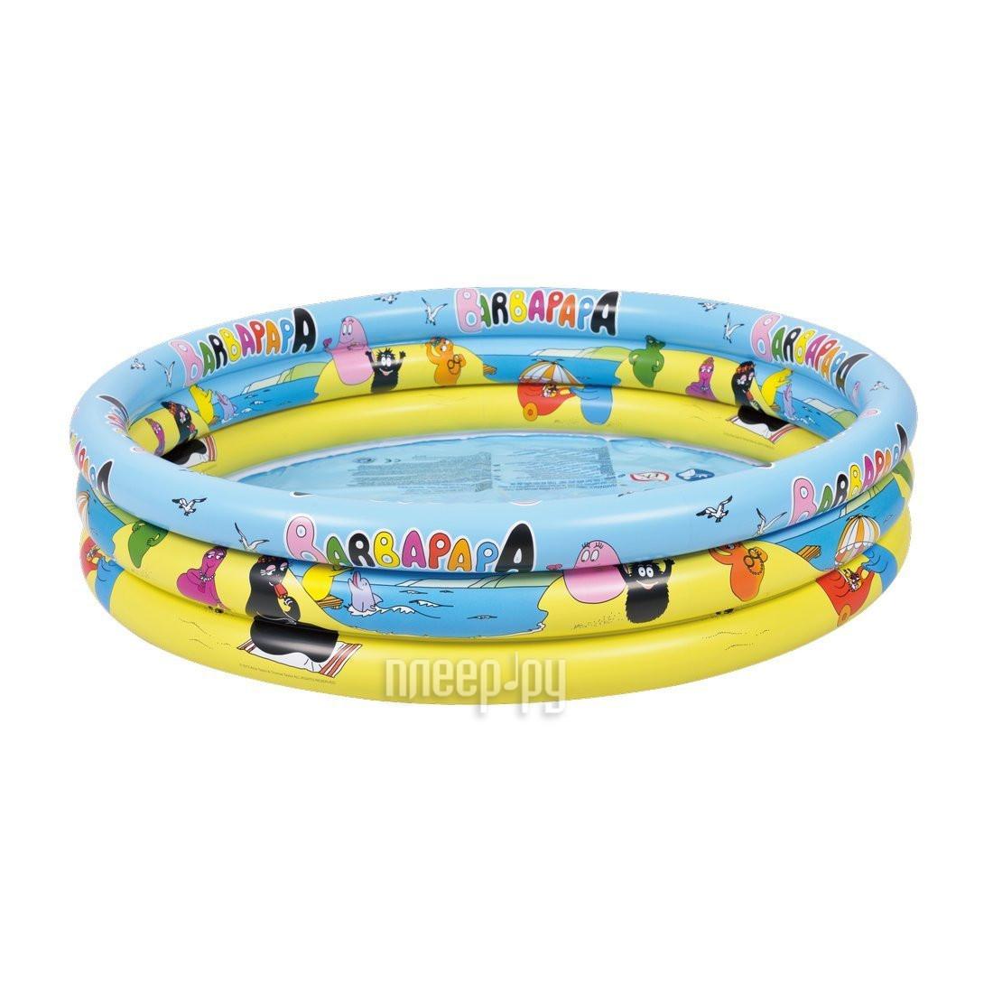 Детский бассейн Jilong Barbapapa 3-ring Pool JL017379NPF
