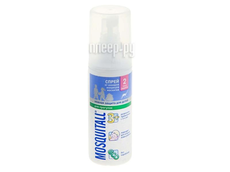 Средство защиты от комаров Mosquitall Нежная защита для детей 100ml 1112392 - спрей