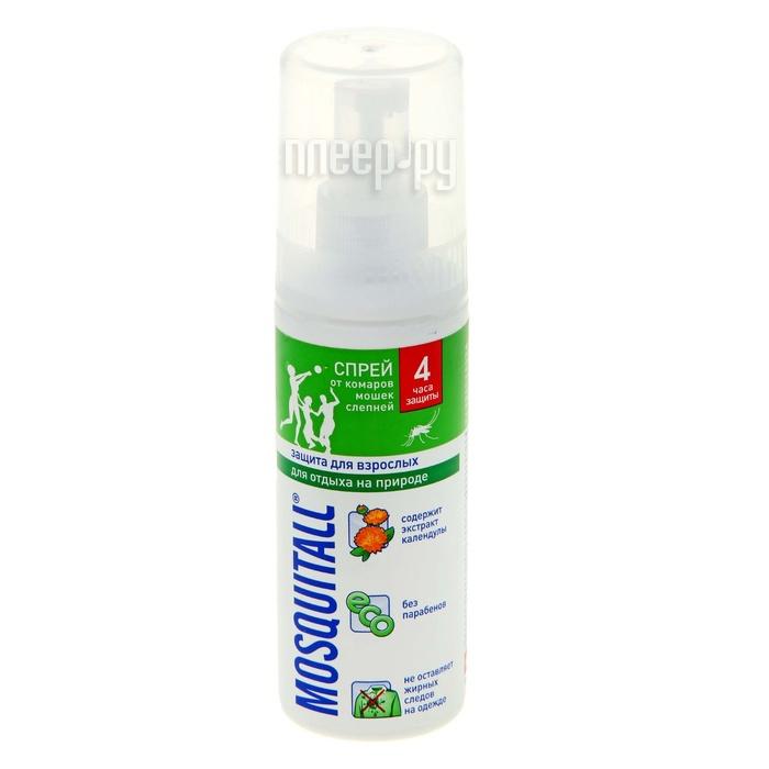 Средство защиты от комаров Mosquitall Защита для взрослых 100ml 1112391 - спрей