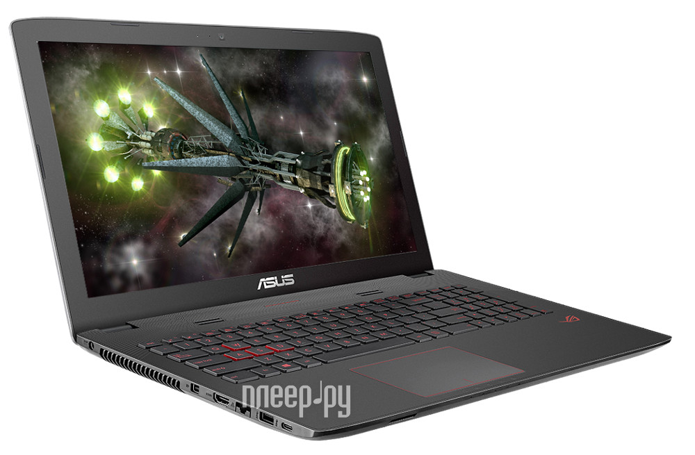 Ноутбук ASUS ROG GL752VW-T4234T 90NB0A42-M03070 (Intel Core i7-6700HQ 2.6 GHz / 12288Mb / 2000Gb + 128Gb SSD / DVD-RW / nVidia GeForce GTX 960M 2048Mb / Wi-Fi / Cam / 17.3 / 1920x1080 / Windows 10 64-bit)