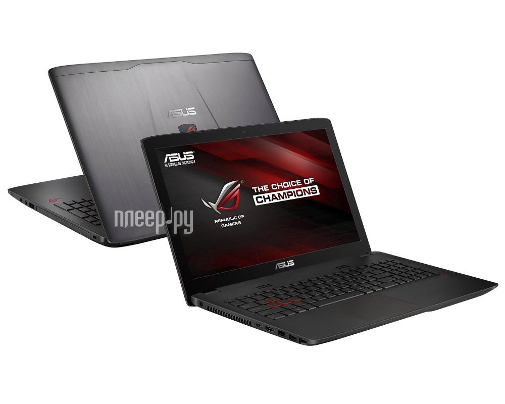Ноутбук ASUS ROG GL552VX-XO103T 90NB0AW3-M01170 (Intel Core i5-6300HQ 2.3 GHz / 8192Mb / 2000Gb + 128Gb SSD / DVD-RW / nVidia GeForce GTX 950M 2048Mb / Wi-Fi / Cam / 15.6 / 1366x768 / Windows 10 64-bit)