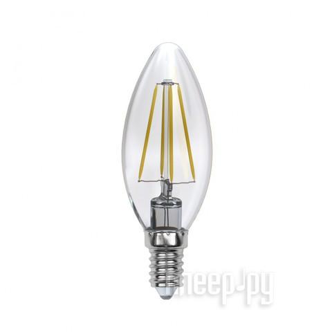 Лампочка Uniel LED-C35-6W / WW / E14 / CL PLS02WH