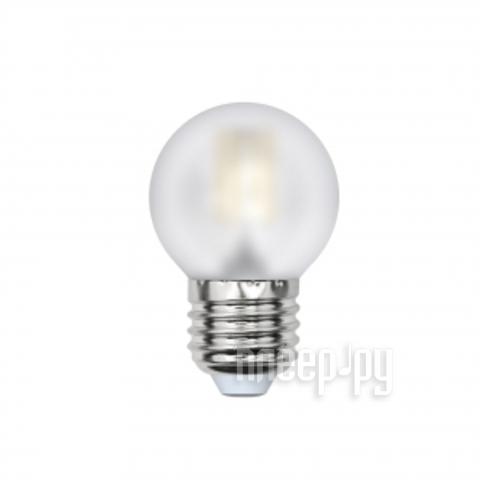 Лампочка Uniel LED-G45-6W / WW / E27 / FR PLS02WH