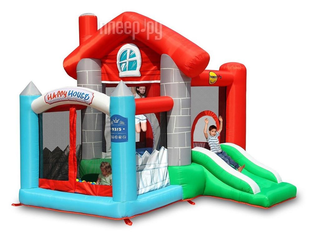 Батут Happy Hop Замок 9315