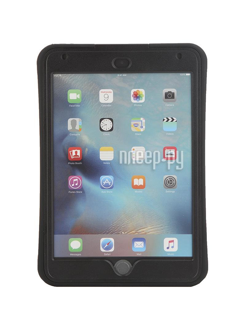 Аксессуар Чехол Griffin Survivor Slim для APPLE iPad mini 4 Black-Black GB41365