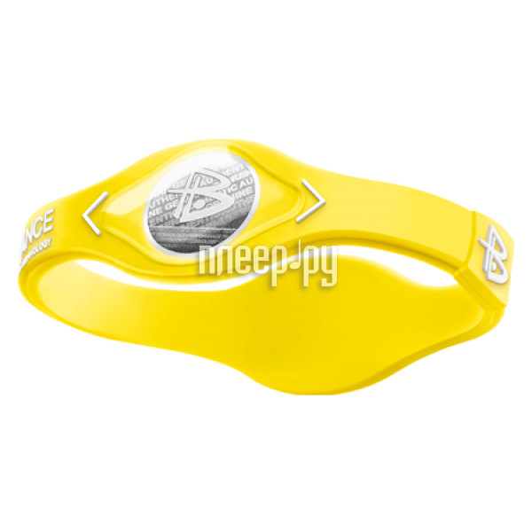 Браслет POWER BALANCE XS NEON White Hologram Yellow / White
