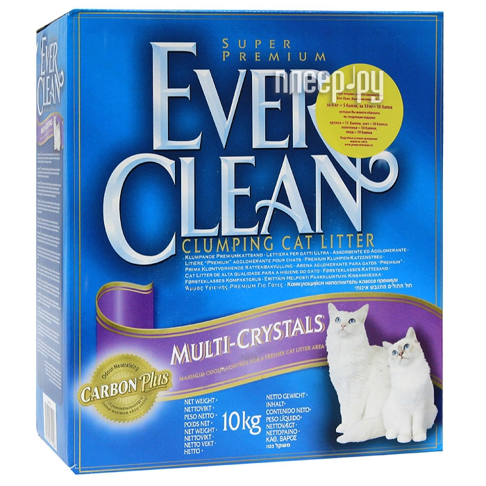 Наполнитель Ever Clean Multi Crystals Blend