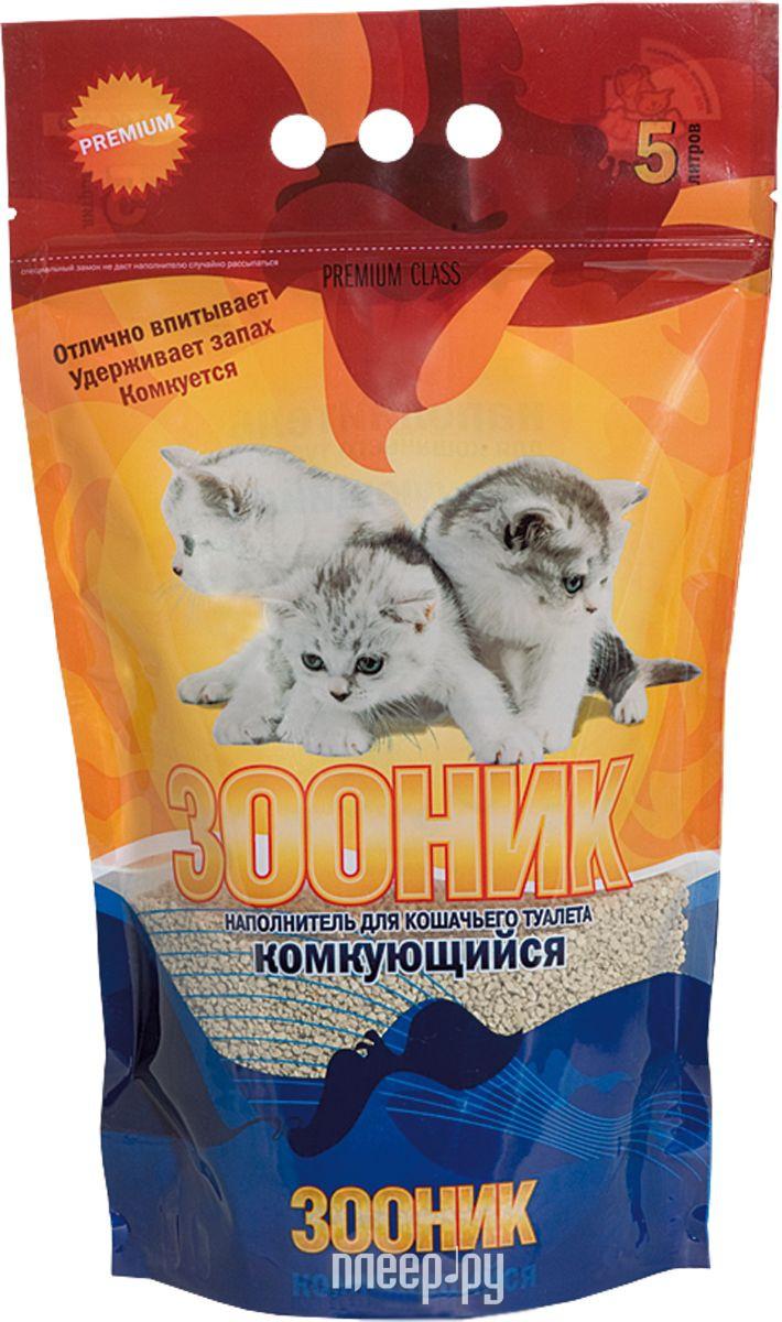 Наполнитель Зооник Комкующийся 4кг (5л) 06226 / 02266