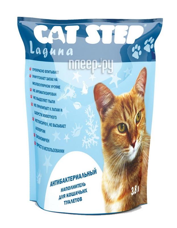 Наполнитель CAT STEP Laguna 3.8L Blue НК-012 31863